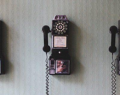 telefonos de pared antiguos