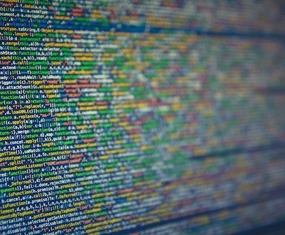 pantalla con datos de programación